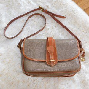 Dooney & Bourke Vintage Pebbled Leather Crossbody